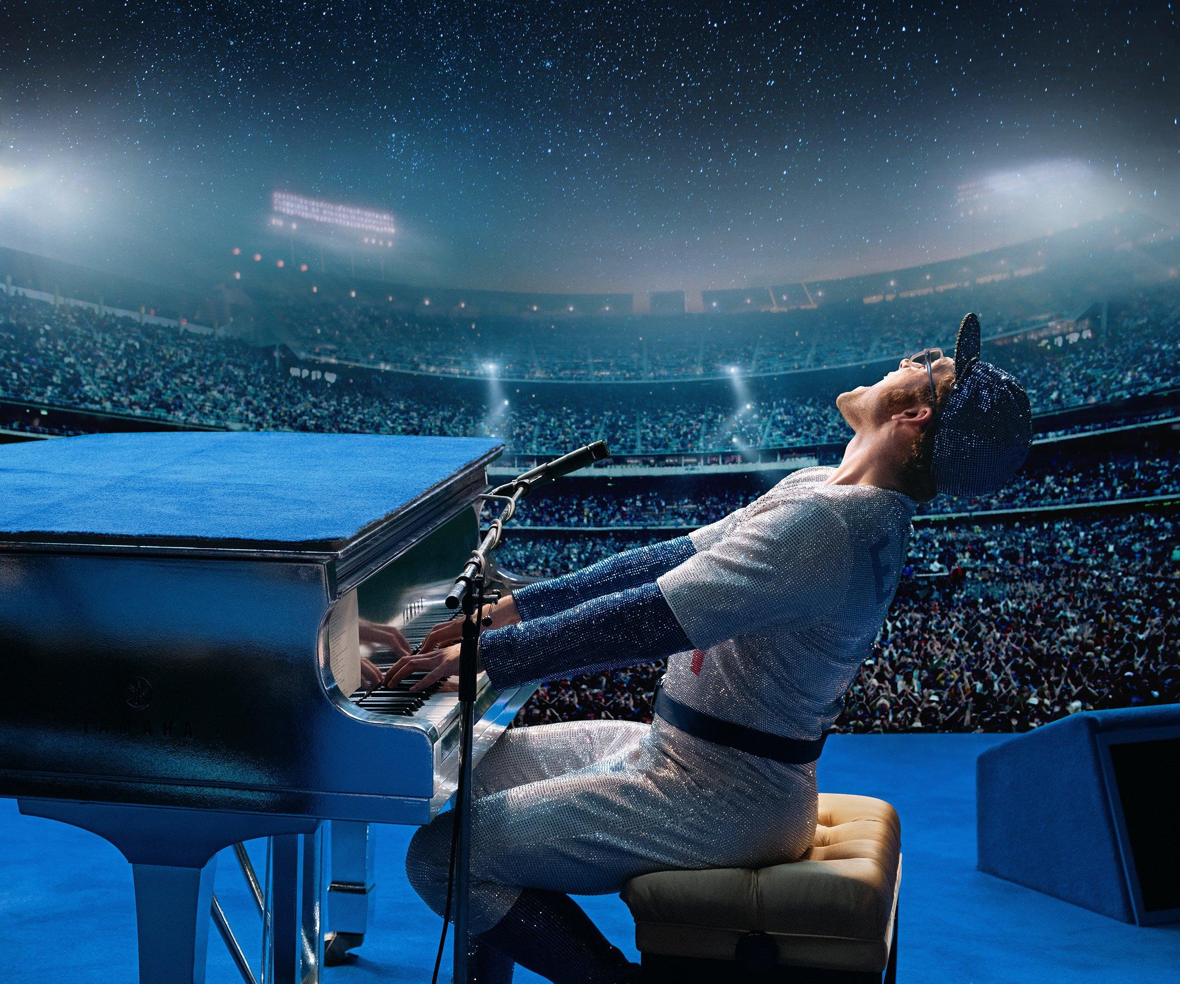«Rocketman» de Dexter Fletcher: un film sur la vie du grand Elton John