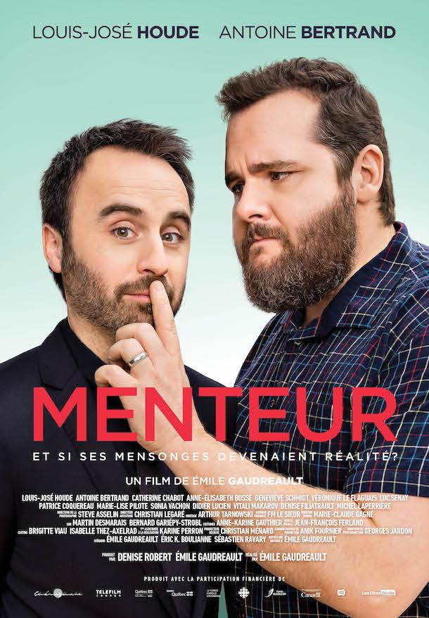 «Menteur», le nouveau film d'Émile Gaudreault avec Louis-José Houde