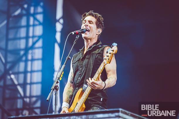 The Offspring et Blink-182 pour la dernière journée du Festival d'été de Québec