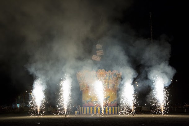 La 15e édition de la «FALLA» de Saint-Michel à la TOHU: un événement de feu!