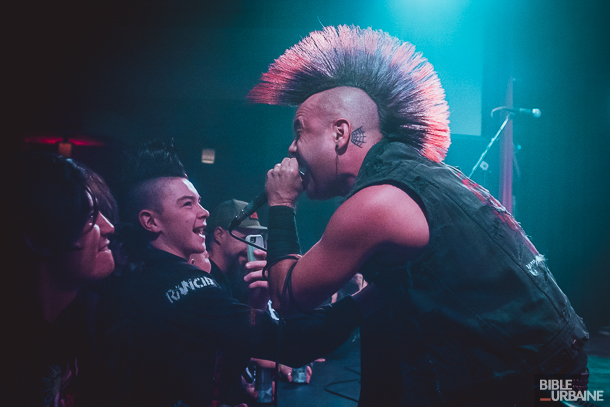 Strung Out avec les streetpunkers The Casualties au Club Soda