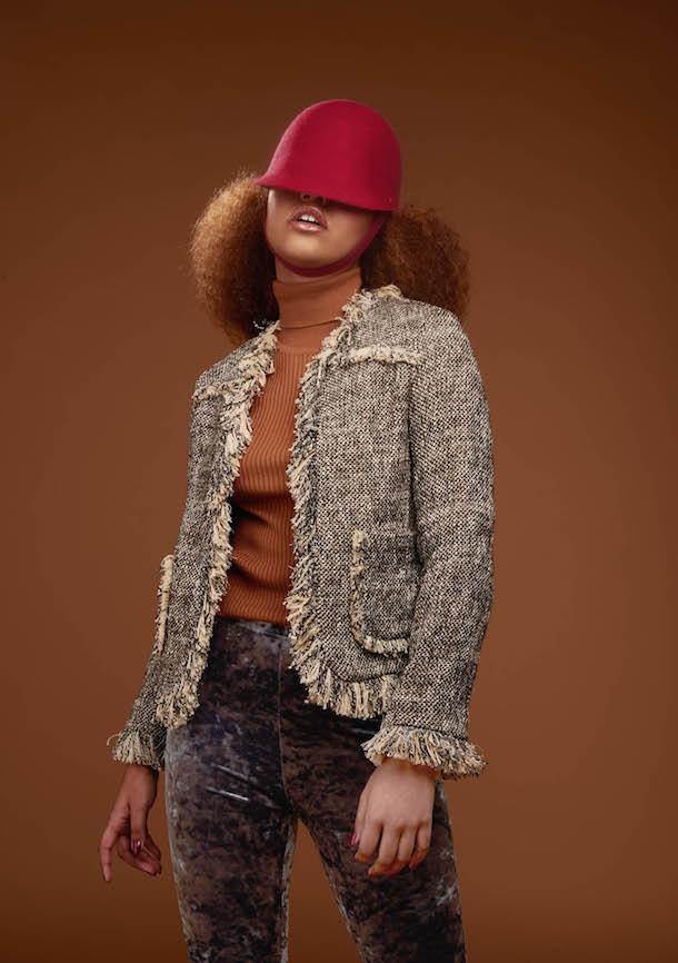«En vogue avec…» Camille Côté, une jeune créatrice de chapeaux en pleine ascension