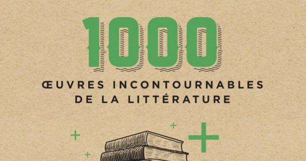 «1000 œuvres incontournables de la littérature» publié chez Hurtubise