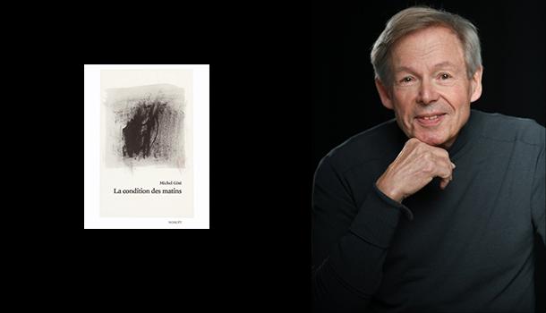 «L'entrevue éclair avec…» Michel Côté, poète prolifique et artiste visuel