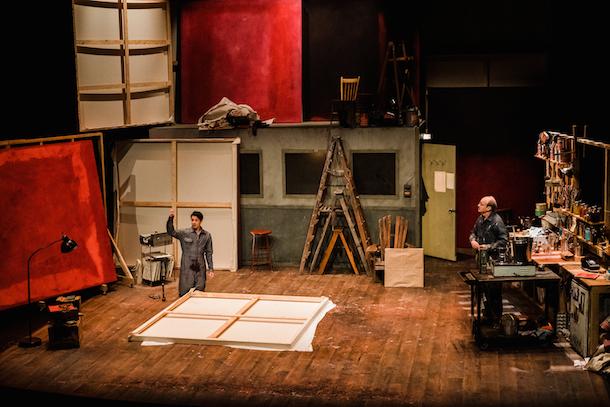 «Rouge» de John Logan dans une mise en scène d'Olivier Normand au Théâtre La Bordée