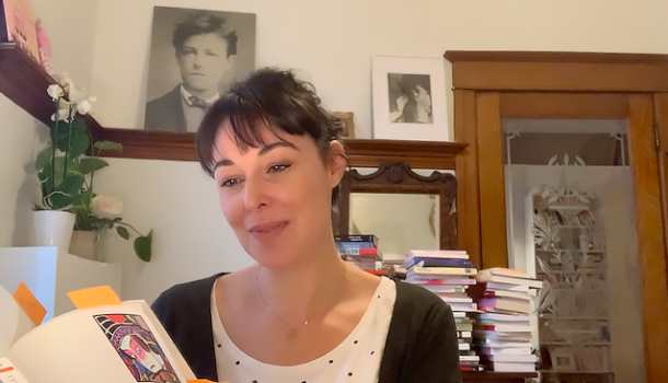 «En quarantaine avec…» Claudia Larochelle, journaliste, animatrice et autrice