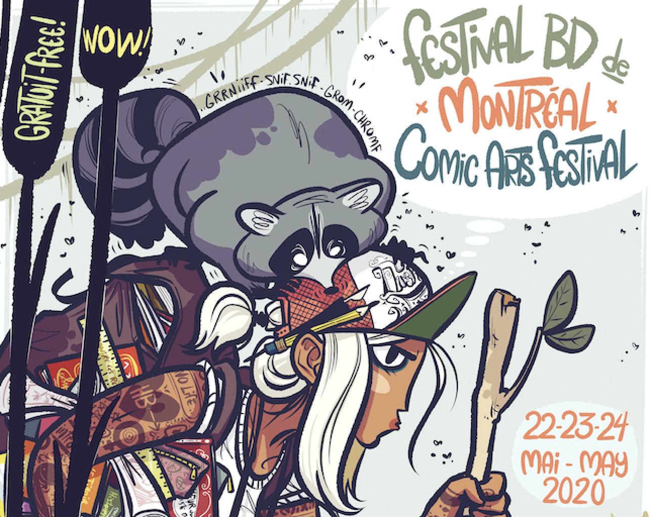 La 9e édition virtuelle du Festival BD de Montréal en Facebook Live