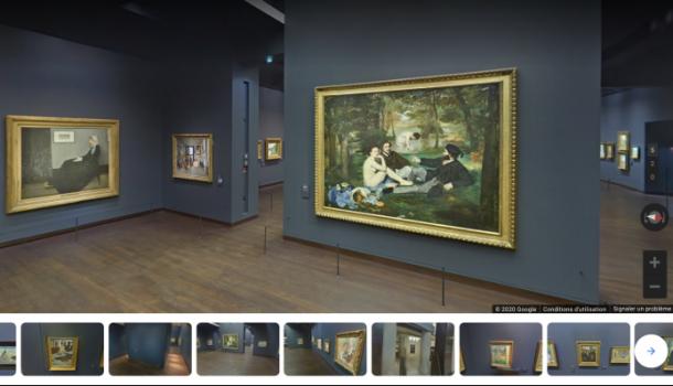 My art will go on(line): le nouveau pari de nos musées