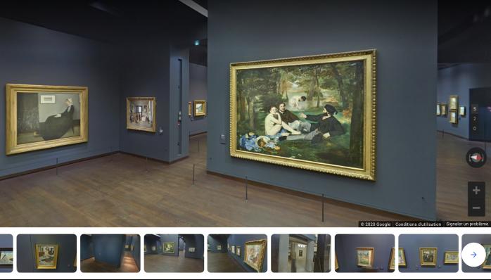 Visite virtuelle du musée d'Orsay, à Paris