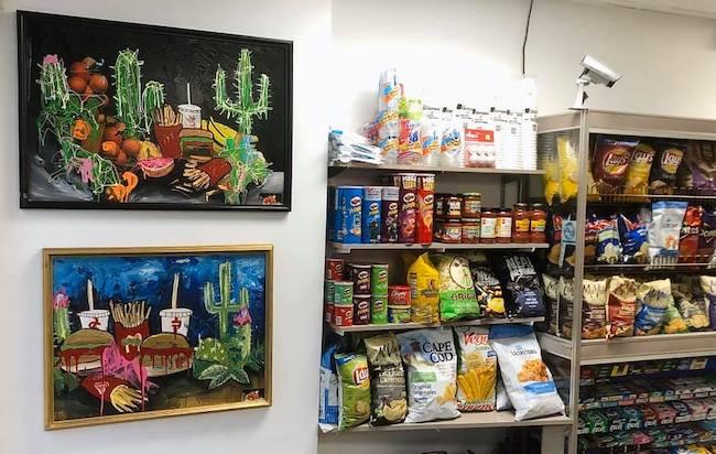 L'artiste-peintre Etienne Martin célèbre 20 ans de carrière avec un vernissage au Dépanneur AS Bière Artisanale