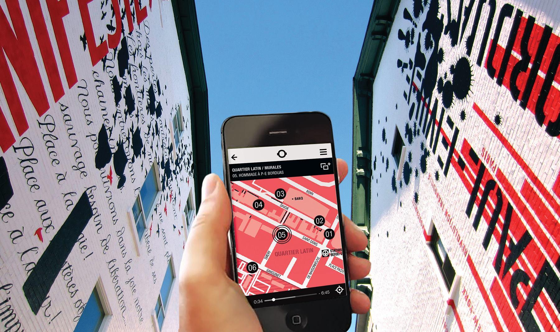 Laissez-vous conter le Quartier Latin et ses murales avec Portrait Sonore