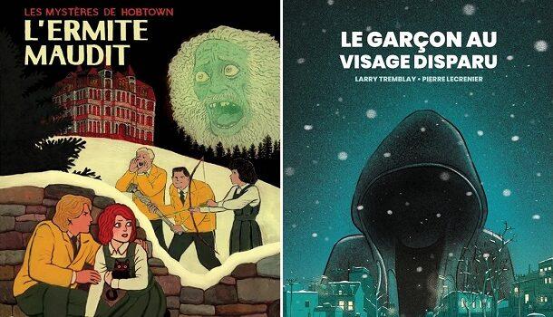 Deux bandes dessinées d'épouvante pour un Halloween confiné