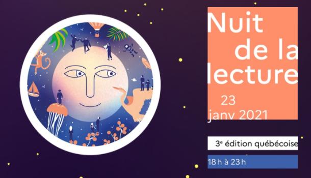 La Nuit de la lecture au Québec dévoile sa 3e édition 100% virtuelle