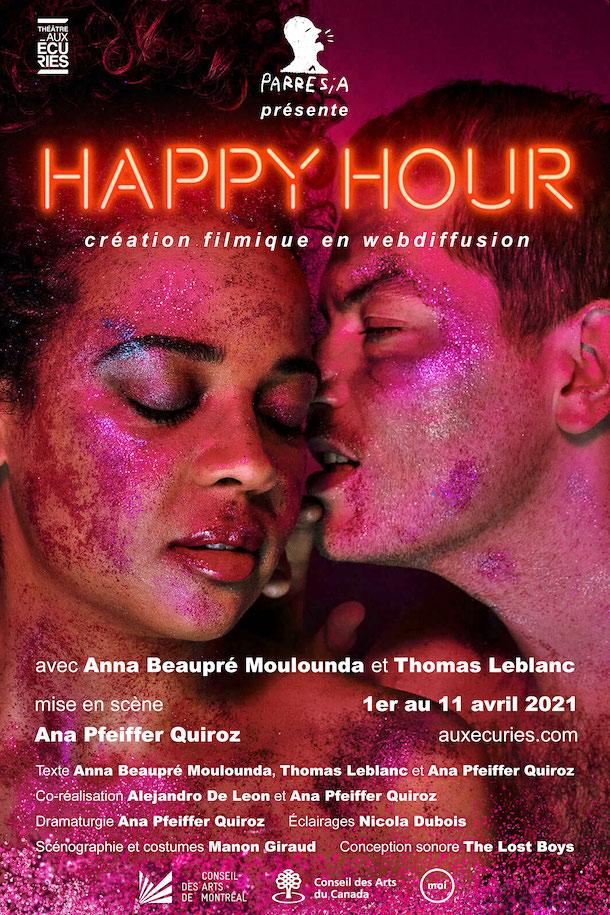 «L'entrevue éclair avec…» Anna Beaupré Moulounda et Thomas Leblanc de «Happy Hour»
