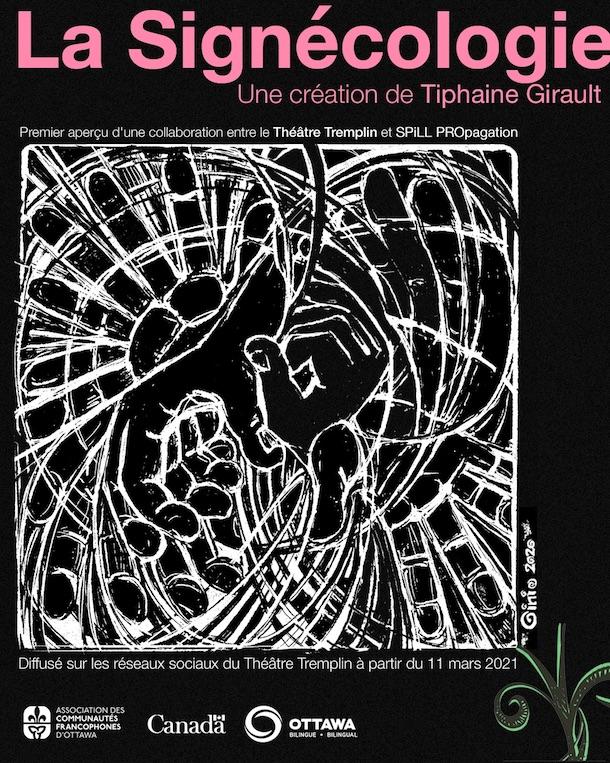 La_Signécologie_affiche_Théâtre_Tremplin