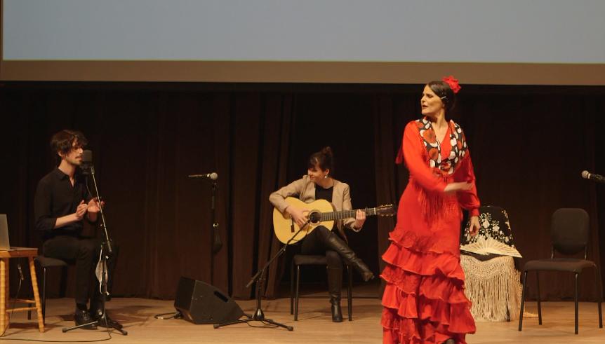 «Le flamenco sous toutes ses formes» à la salle Bourgie du Musée des beaux-arts de Montréal