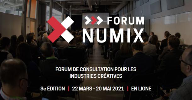 Le 3e Forum NUMIX dévoile 10 conférences dans le cadre de sa programmation 100% virtuelle