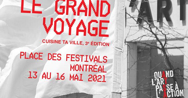 «Cuisine ta ville, le grand voyage»: les arts migratoires sur la Place des festivals