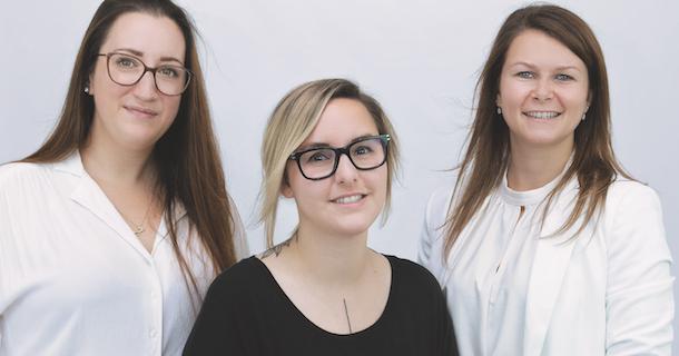 «Dans la peau de…» Isabelle Arcoite, Laurence Desjardins et Annabelle Gauthier d'On SEXplique ça